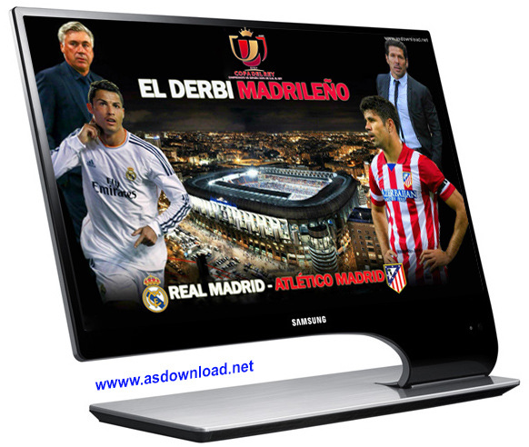 Real Madrid 2014 theme windows 8