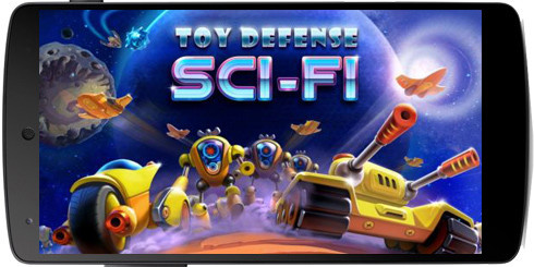 Toy defense 4: Sci-fi-بازی دفاع اسباب بازی برای آندروید+ دیتا