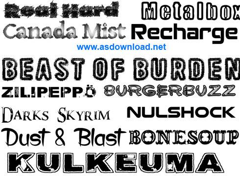 new english font 2014