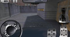 police car parking 3D HD-1