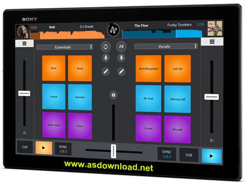 Cross DJ - Mix your music v2.0.2- نرم افزار میکس موزیک برای آندروید