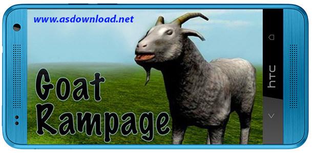 Goat rampage-بازی خشم بز برای آندروید