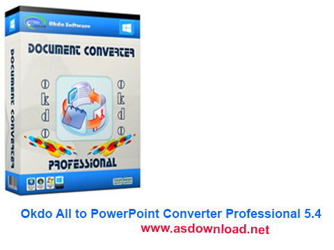 Okdo All to PowerPoint Converter Professional