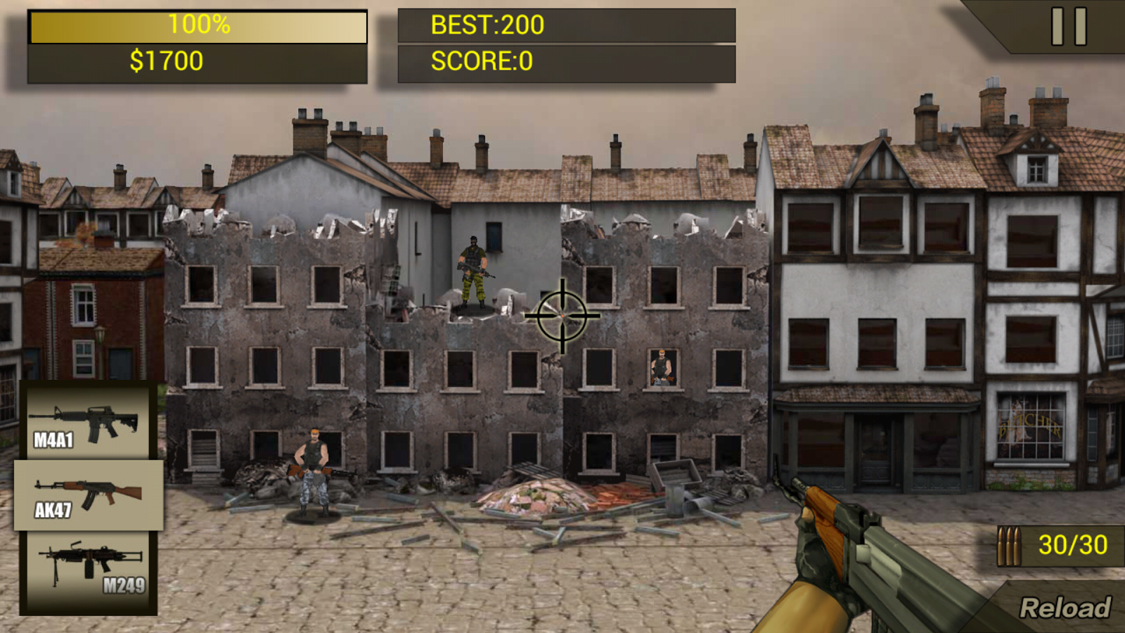 SWAT Shooting android
