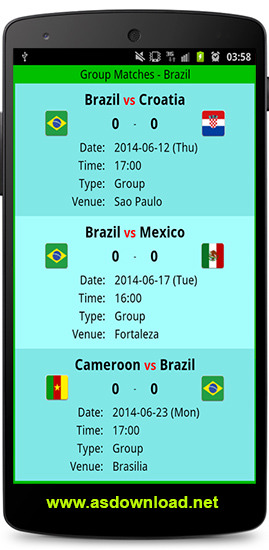 World Cup 2014 apk for android