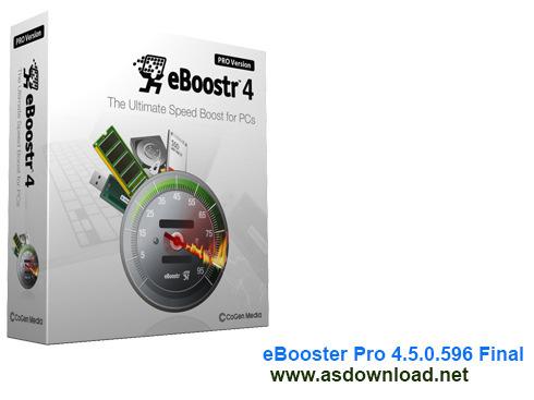 eBooster Pro 4.5.0.596 Final – تبدیل فلش مموری به رم برای کامپیوتر و لپ تاپ
