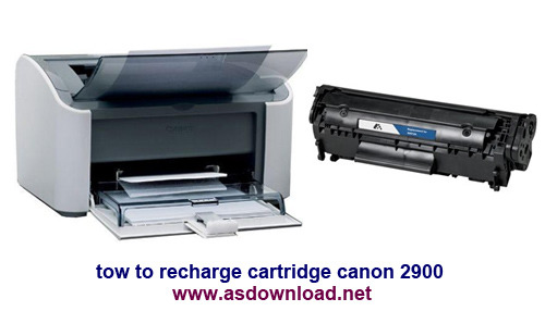 tow to recharge cartridge canon 2900