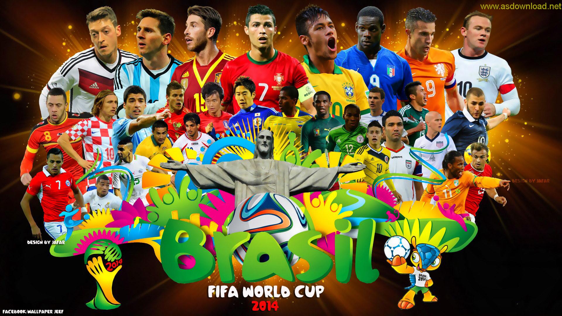 12 والپیپر جدید از جام جهانی 2014