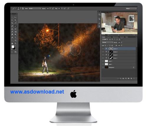 فیلم آموزش ایجاد پرتو نور بر روی تصاویر در فتوشاپ