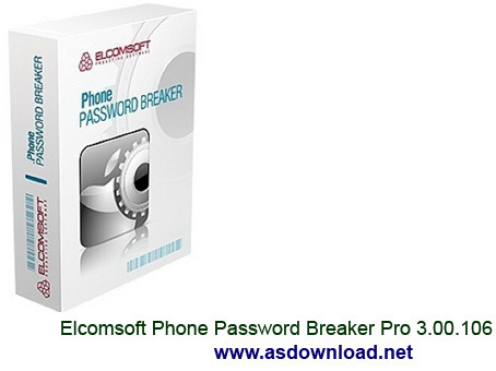 Elcomsoft Phone Password Breaker Pro 3.00.106