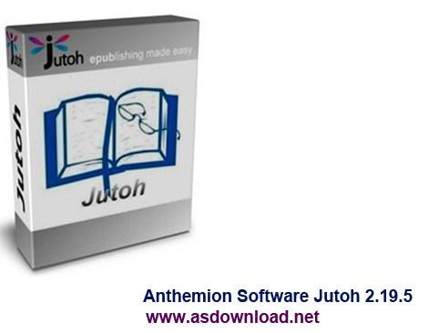 Anthemion Software Jutoh 2.19.5-نرم افزار ساخت کتاب الکترونیکی
