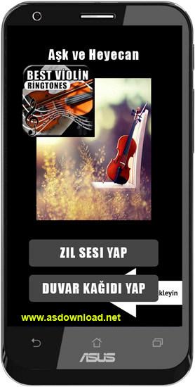 Best Violin Ringtones-نرم افزار رنگ خور ویولن برای آندروید