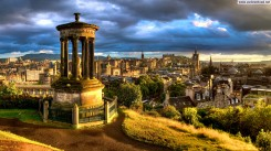 Calton-Hill-Edinburgh-Panorama-Wallpaper
