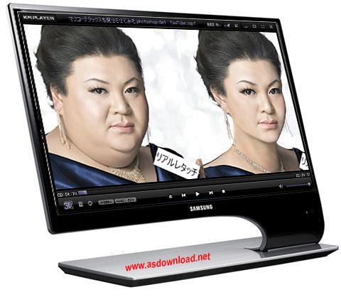 Changing your face shape in Photoshop فیلم آموزش تغییر فرم سر و صورت در فتوشاپ حرفه ای