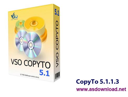CopyTo 5.1.1.3-نرم افزار رایت سریع و کپی CD,DVD