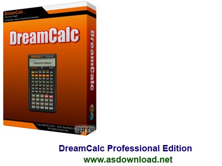 DreamCalc Professional Edition v4.9.3-ماشین حساب مهندسی