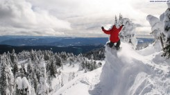 Extreme-Snowboarding-Winter-Wallpaper