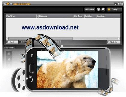 GOM Video Converter free-تبدیل فرمت انواع فیلم