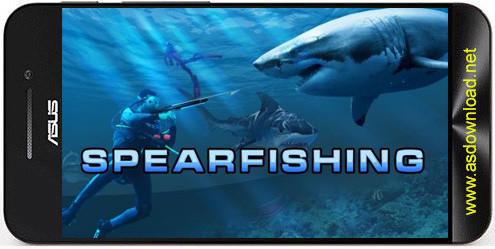 Hunter underwater spearfishing-بازی شکار در زیر آب برای اندروید