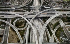 Los Angeles Highway Wallpaper