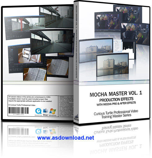 Mocha Pro v4.0-نرم افزار ساخت انیمیشن سه بعدی