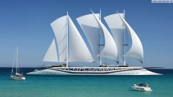 Modern-Sailboat-Wallpaper
