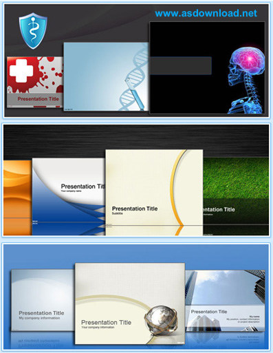 PowerPoint Templates-Medicine and Biology