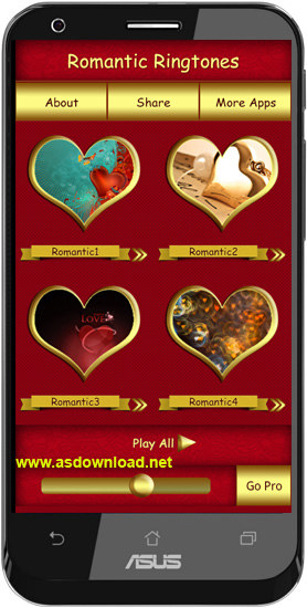 Romantic Ringtones for android