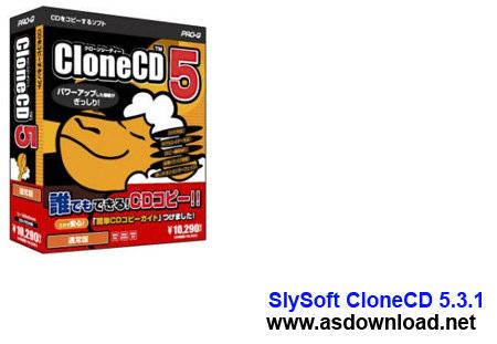 SlySoft CloneCD 5.3.1.4 Final-نرم افزار شکستن قفل سی دی