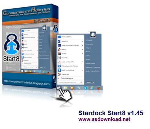 Stardock Start8 v1.45