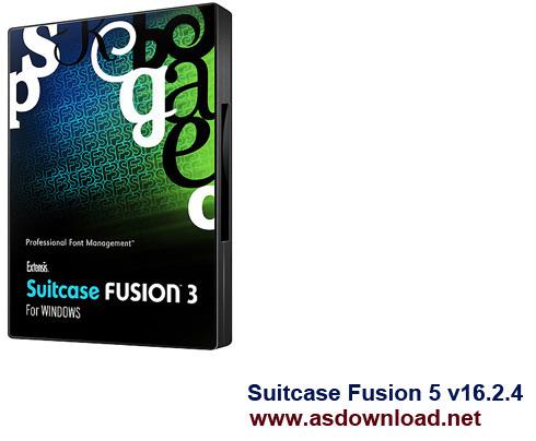Suitcase Fusion 5 v16.2 Suitcase Fusion 5 v16.2.4 نرم افزار نمایش و مدیریت فونت
