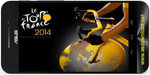 Tour de France 2014 Tour de France 2014: The game بازی دوچرخه سواری تور فرانسه برای اندروید
