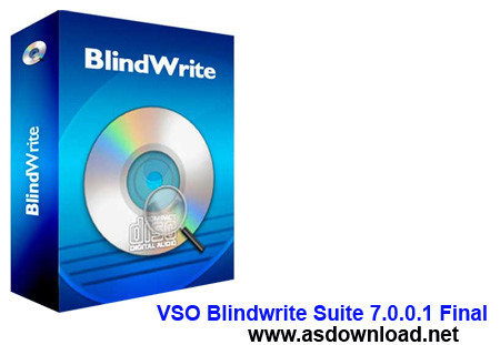 VSO Blindwrite Suite 7.0.0.1 Final-شکستن قفل cd و dvd