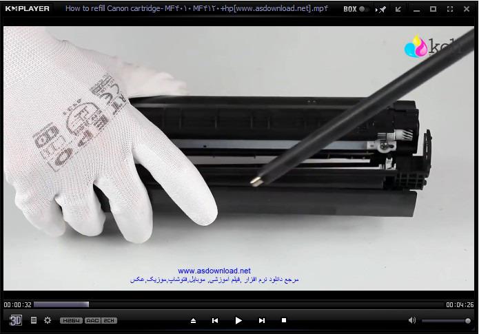 how to refill cartridge HP  1010,1015,1020,3015-CANON  MF4010 MF4120