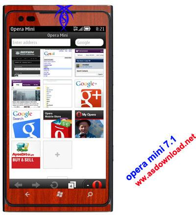 دانلود نسخه سالم اپرا مینی برای گوشی های جاوا-
