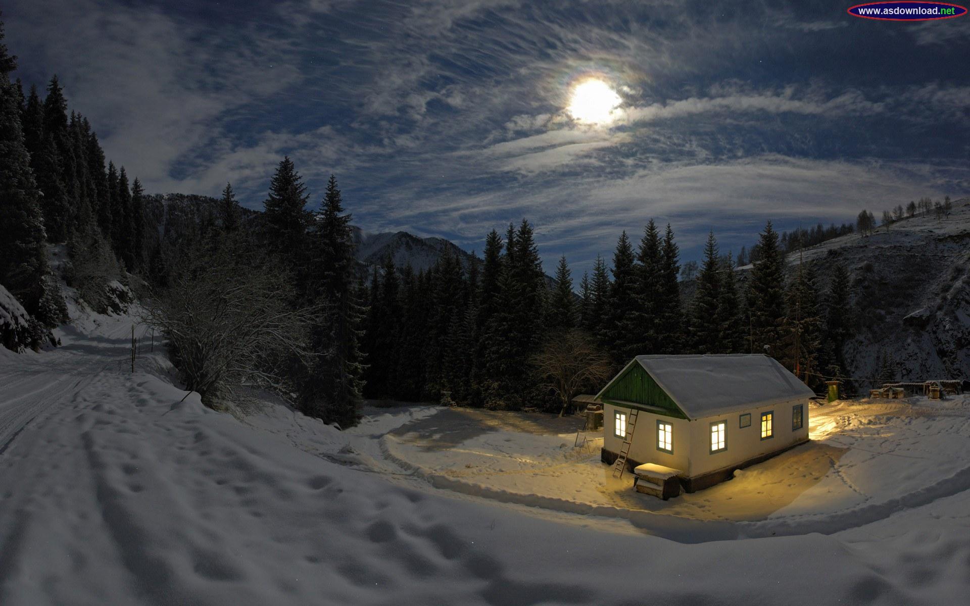 دانلود عکس طبیعت برفی و زمستانی 2014