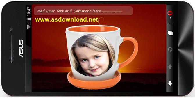 Coffee Mug Photo Frames-نرم افزار هک عکس بر روی لیوان قهوه