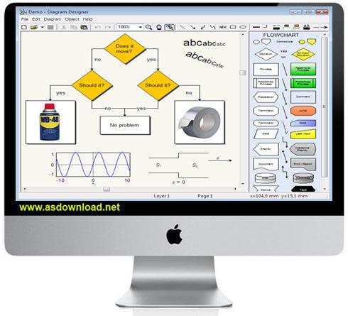 Diagram Designer 1.26-نرم افزار طراحی نمودار و دیاگرام