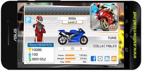 Drag Racing: Bike Edition-بازی مسابقه موتور سواری برای اندروید
