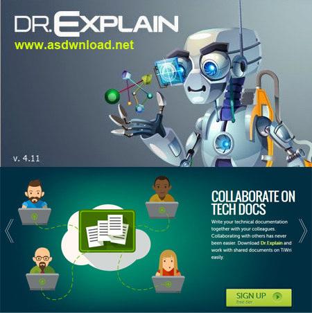 Dr.Explain 4.11.865-نرم افزار ساخت help برای برنامه های آموزشی
