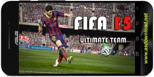 FIFA 15: Ultimate team-دانلود بازی فوتبال فیفا 2015 برای اندروید+دیتا