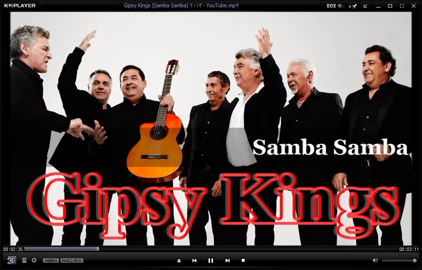 دانلود آهنگ جدید جیپسی کینگز-سامبا سامبا