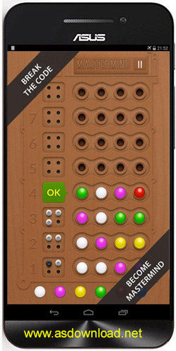 Mastermind Board Game-بازی فکری برای اندروید