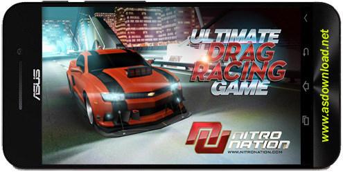 Nitro Nation Racing v3.2.5-بازی مسابقه ماشین سواری نیترو + دیتا