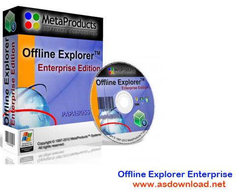 Offline Explorer Enterprise v6.9.4144-دانلود و مشاهده کامل سایت ها به صورت آفلاین