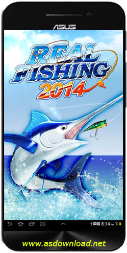 Real Fishing 2014-بازی ماهی گیری با قلاب برای اندروید