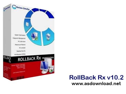 RollBack Rx v10.2 -بازگردانی ویندوز به زمان دلخواه