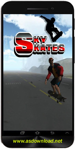 Sky skates 3D-بازی اسکی برای اندروید
