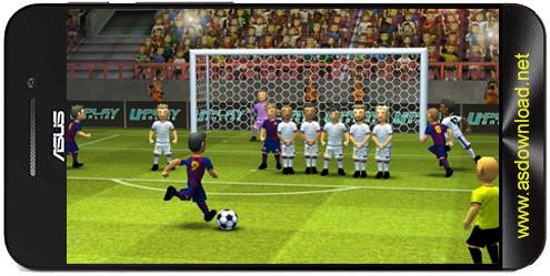 Striker Soccer 2-بازی فوتبال مهیج برای اندروید+دیتا