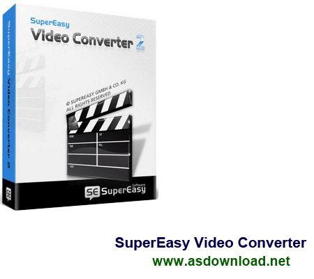 SuperEasy Video Converter v3.0.5175-نرم افزار تبدیل فیلم با کیفیت بالا